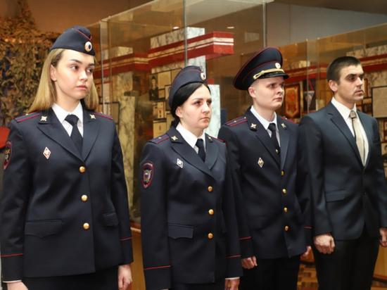 В Саранске молодая смена полицейских приняла присягу
