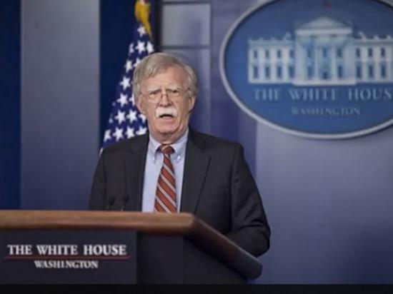 Болтон: санкции против венесуэльского ЦБ – это