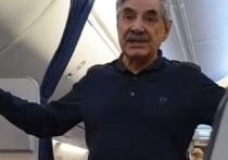Актера Панкратова-Черного оштрафуют либо посадят на 15 суток после инцидента в самолете