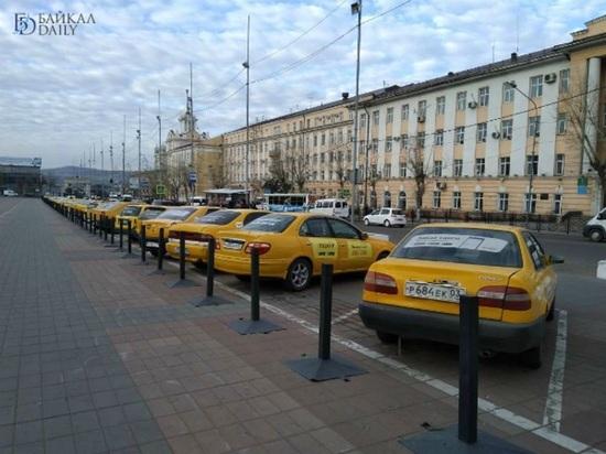 Цвет настроения желтый: таксисты провели в Улан-Удэ акцию протеста