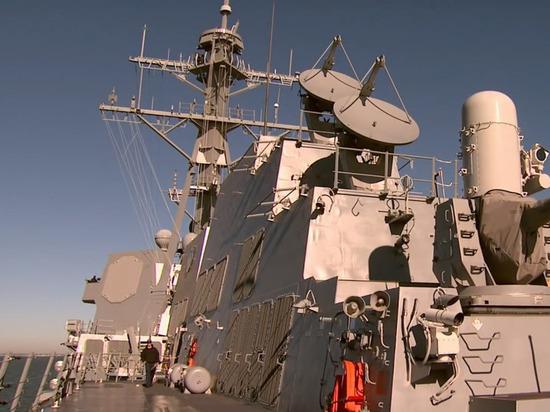 Флотилия НАТО вошла в Балтийское море