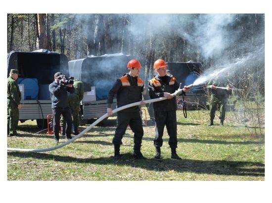 В Серпухове силы гражданской обороны готовы к пожароопасному сезону