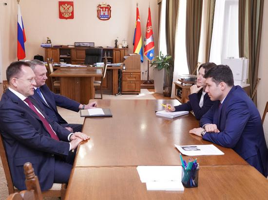 Губернатор Калининградской области встретился с послом по особым поручениям МИДа РФ