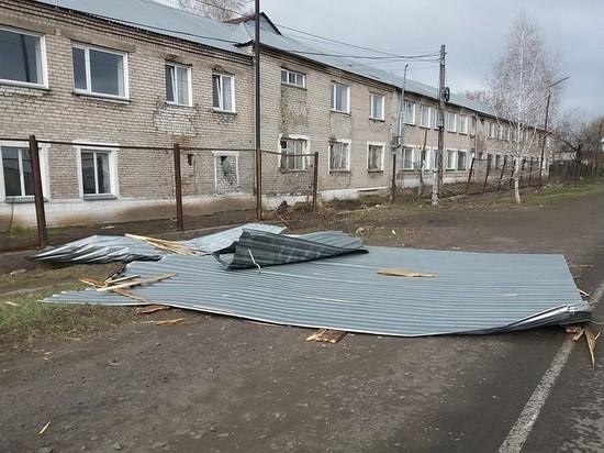 У психбольницы в Алтайском крае сорвало крышу