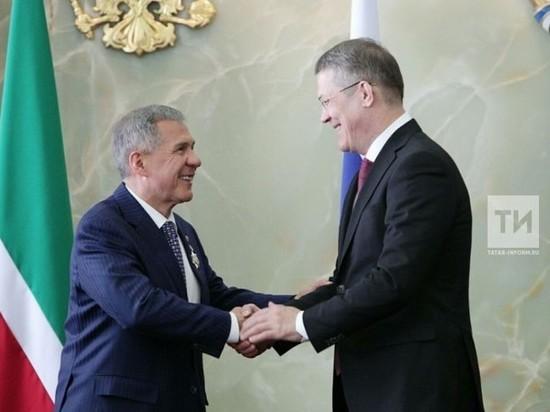 Рустам Минниханов стал кавалером ордена Салавата Юлаева