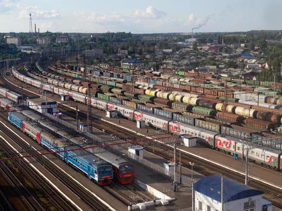 Под Воронежем в товарном поезде нашли бомбу