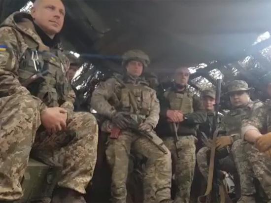 Воющие с ДНР бойцы украинской армии выступили против Зеленского