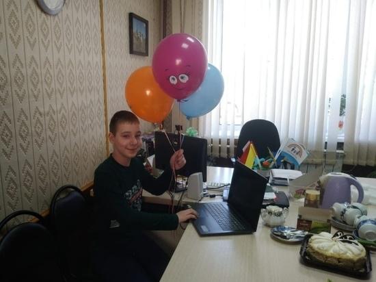 Благотворительный фонд «Константа» исполнил мечту юного жителя Тверской области