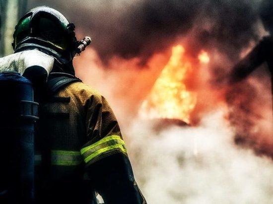Под Тверью в собственном доме заживо сгорел мужчина