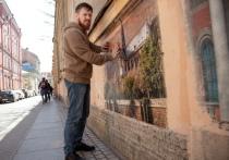Петербургский художник «воскресил» Нотр-Дам-Де-Пари на стене дома