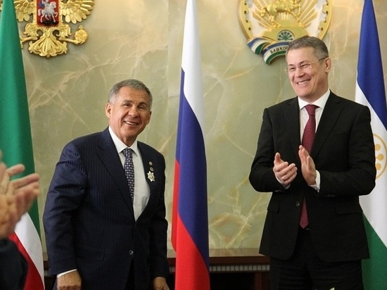 Хабиров намерен открыть в Татарстане полномочное представительство Башкирии