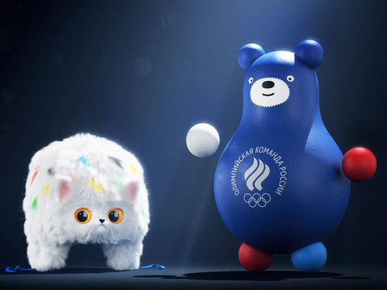 Россию будут символизировать медведь-неваляшка и шапка из кота
