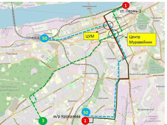 Троллейбусы уедут с пермских улиц