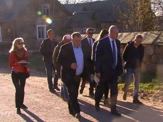 Большегрузы пустят в объезд исторического поселения Велье