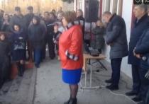 Глава Приморского района пыталась выгнать людей на улицу