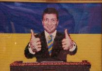 Из конфет Порошенко сделали сладкого Зеленского