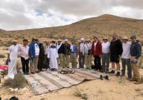 Российский еврейский конгресс увел бизнесменов в паломничество по израильской пустыне