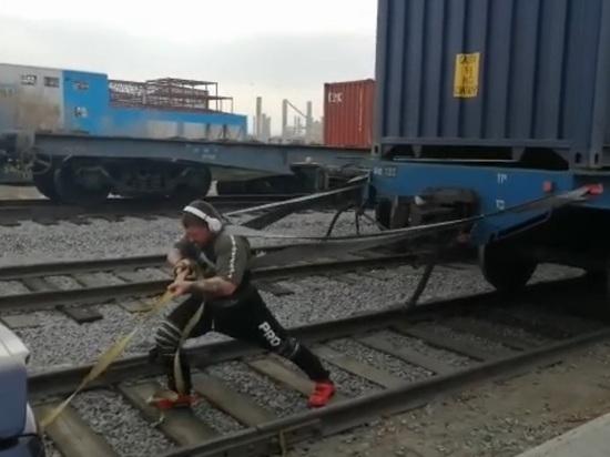 200 тонн в качестве разминки потянул житель Хабаровска