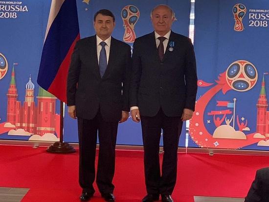 Казачий атаман и вице-губернатор Долуда получил Орден почёта за подготовку в ЧМ-2018