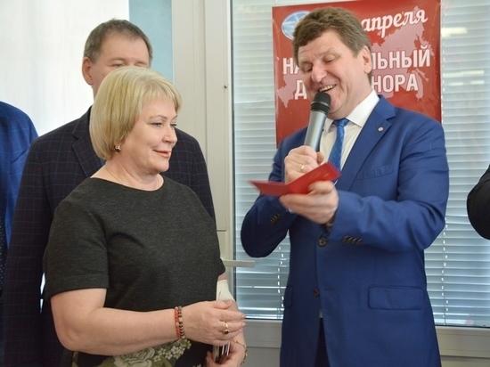 Депутаты городского Совета поддержали Национальный день донора крови