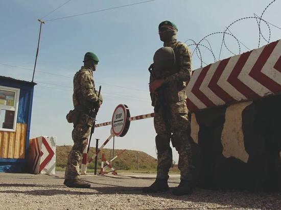 Украина усилила охрану границы с Крымом