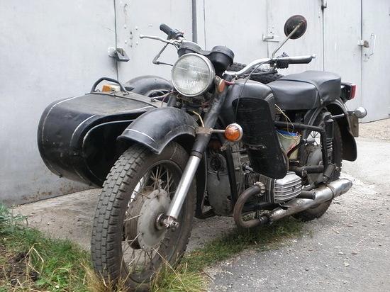 В Воронеже у пенсионера «увели» мотоцикл «Днепр»