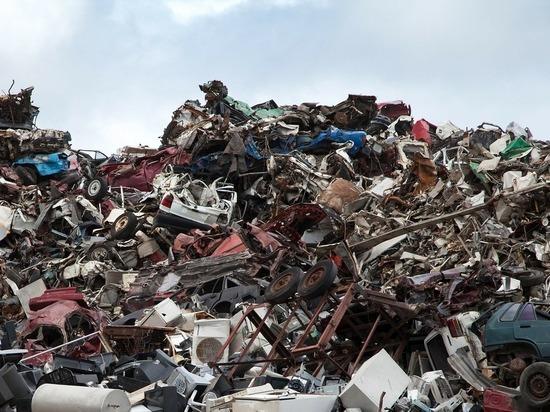 В Камешковском районе горел мусорный полигон
