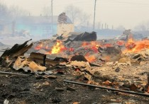 Дома почти 90 человек выгорели в забайкальском селе Унда