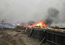 Минздрав сообщил о пятерых пострадавших на пожарах в Забайкалье