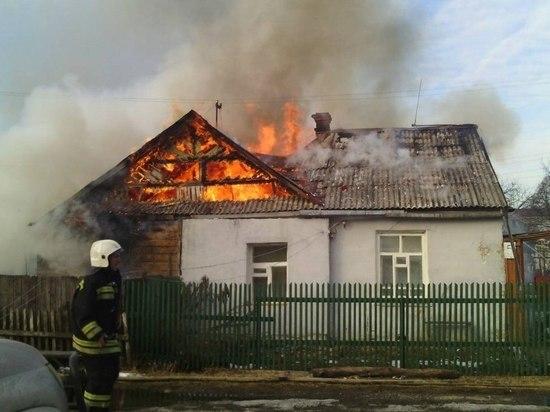 В Мордовии в одночасье сгорели 12 домов