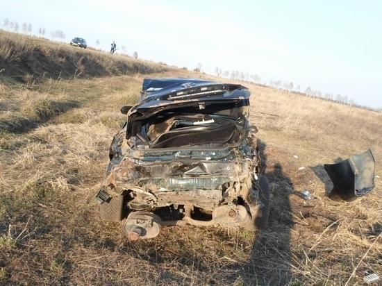 В Мордовии автомобилист разбил иномарку и покалечил пассажира