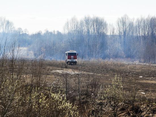 На саранском полигоне ТБО – самовызгорание