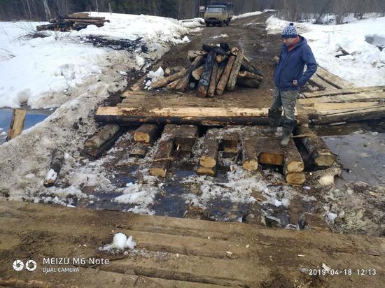 О сгоревших мостах на Шиес: там и дороги-то не было