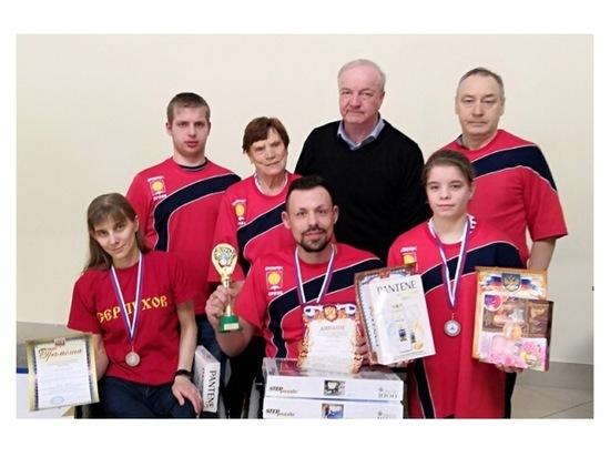 Серпуховичи стали призерами областных соревнований по плаванию