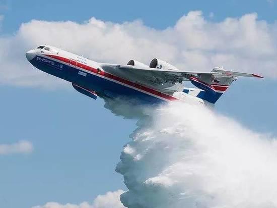 Два самолёта-амфибии летят в Забайкалье для тушения пожаров