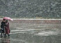 Крым накроет дождь со снегом и сильный ветер
