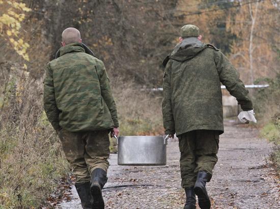 Рядовой в псковской военной части проучил сослуживца ударом ноги