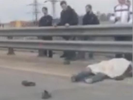 На окружной дороге в Ярославле разбился мотоциклист
