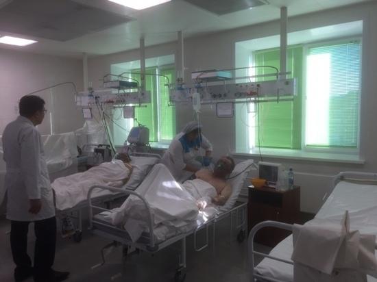 Два пострадавших в пожаре забайкальца добрались в больницу на попутке