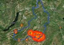 Более 14 тыс га охватили природные пожары в Забайкалье