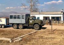 Пункты временного размещения в Забайкалье приняли 39 погорельцев