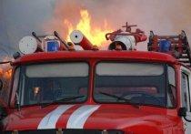 В Сакмарском  районе  сгорел большой дом