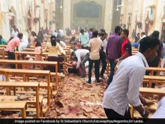 Седьмой взрыв прогремел на Шри-Ланке