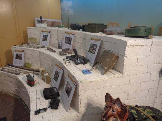В Кандалакшу прибыла выставка оружия сирийских террористов