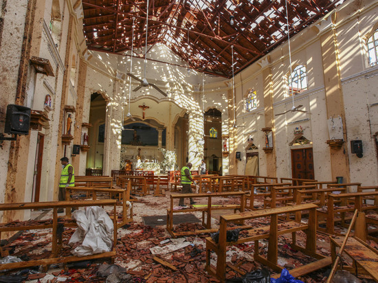 Власти Шри-Ланки выявили организаторов взрывов на Пасху