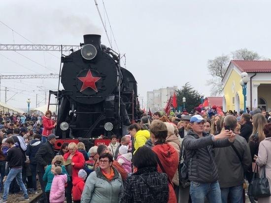 Евпатория отметила 75-летие освобождения от фашистов
