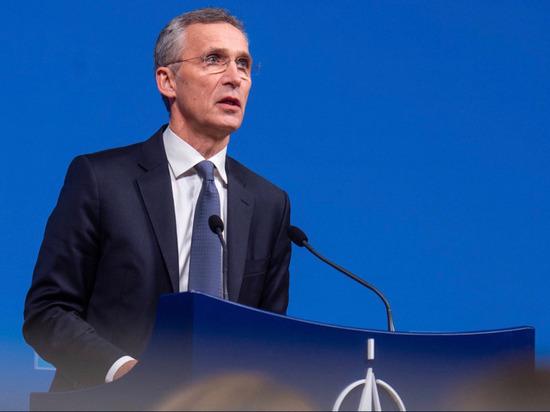 Генсек НАТО Столтенбергпоздравил Зеленского с победой на выборах