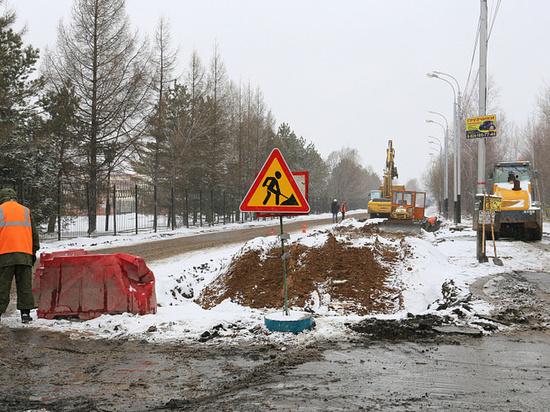 Улицу Выборгскую в Хабаровске будут ремонтировать по ночам