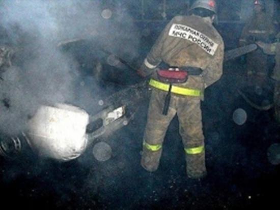 21 апреля в Ивановской области горели автомобили, ангары и частные дома