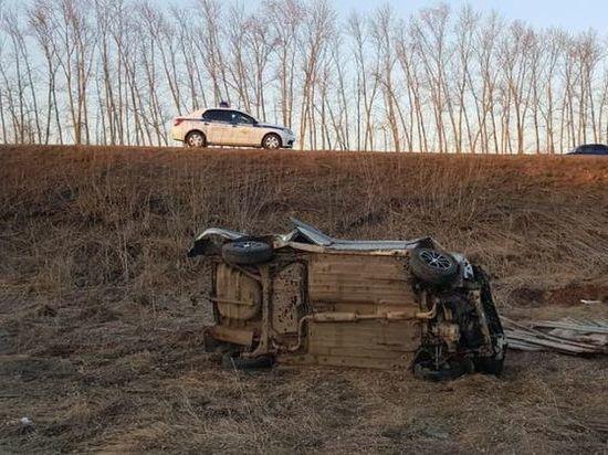 Пьяный водитель, лишенный прав, едва не погиб в аварии под Стерлитамаком